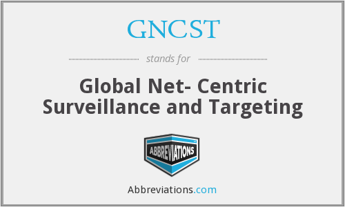 What does GNCST stand for?