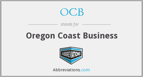 OCB - Oregon Coast Business