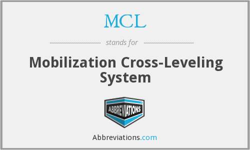 MCL - Mobilization Cross-Leveling System