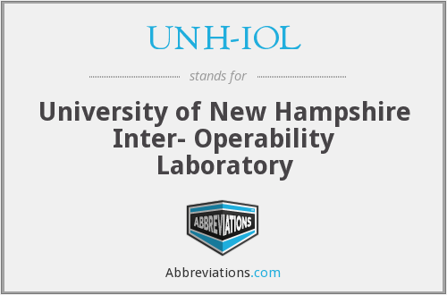 What does UNH-IOL stand for?