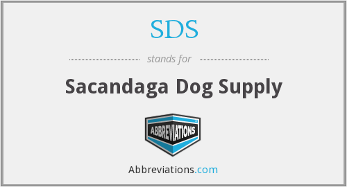 SDS - Sacandaga Dog Supply