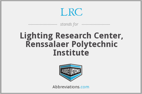 LRC - Lighting Research Center, Renssalaer Polytechnic Institute