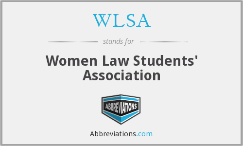 WLSA - Women Law Students' Association
