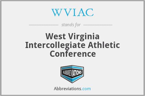 WVIAC - West Virginia Intercollegiate Athletic Conference