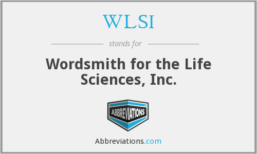 WLSI - Wordsmith for the Life Sciences, Inc.