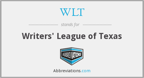WLT - Writers' League of Texas