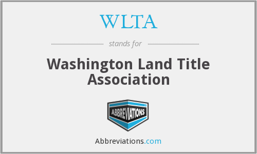WLTA - Washington Land Title Association