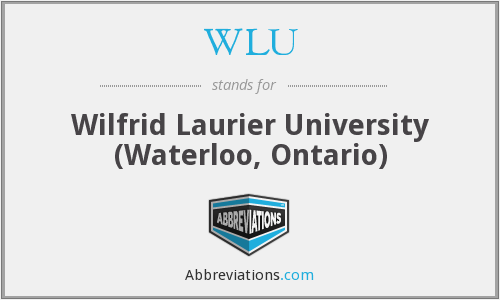 What does WLU stand for?