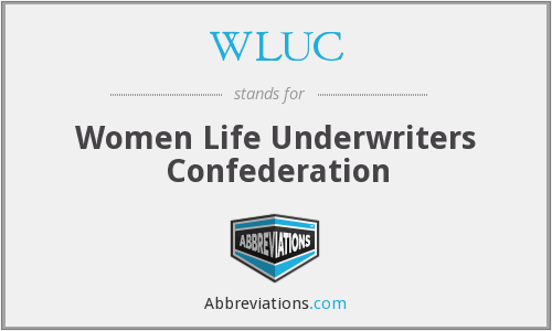 WLUC - Women Life Underwriters Confederation