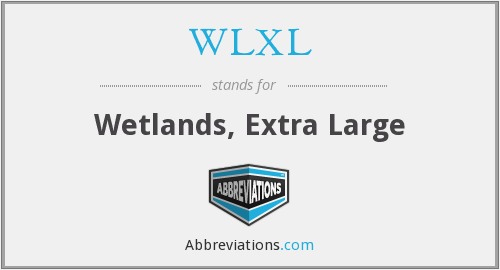 WLXL - Wetlands, Extra Large