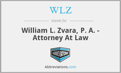 WLZ - William L. Zvara, P. A. - Attorney At Law
