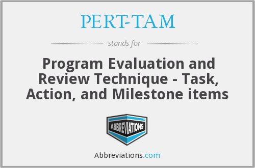 What does PERT-TAM stand for?