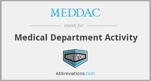 What does MEDDAC stand for?
