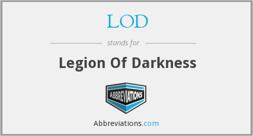 LOD - Legion Of Darkness