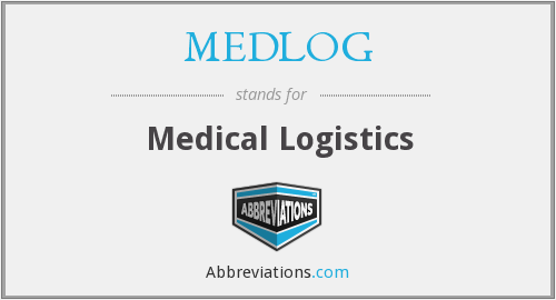 What does MEDLOG stand for?