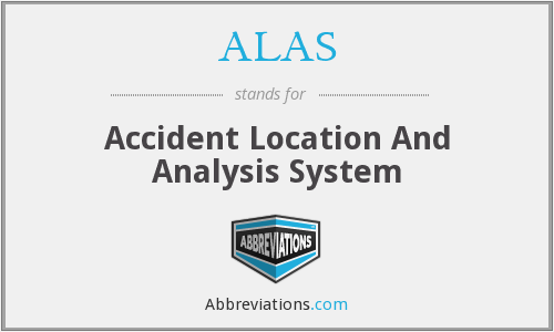 ALAS - Accident Location And Analysis System