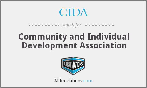 CIDA - Community and Individual Development Association