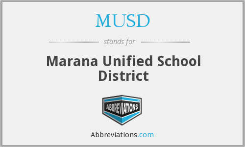 What does MUSD stand for?