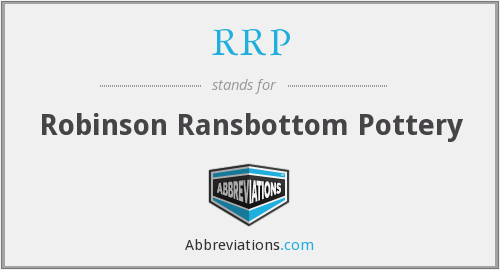 RRP - Robinson Ransbottom Pottery