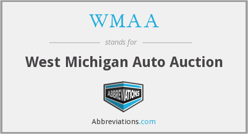 WMAA - West Michigan Auto Auction