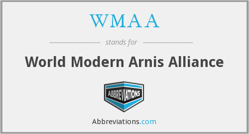 WMAA - World Modern Arnis Alliance