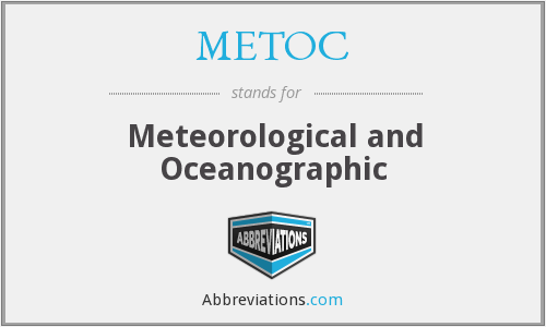 METOC - Meteorological and Oceanographic