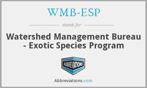 What does WMB-ESP stand for?