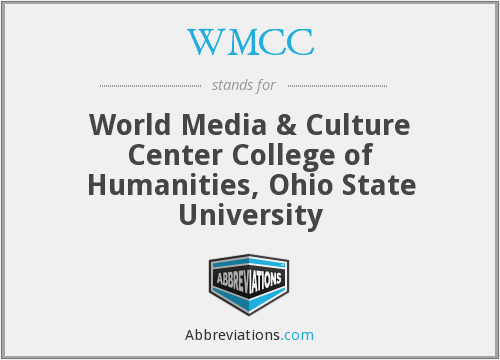 What does WMCC stand for?