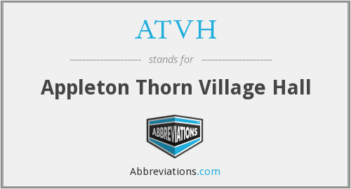What does ATVH stand for?