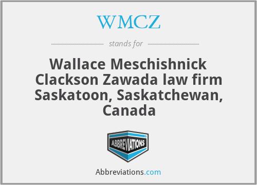 WMCZ - Wallace Meschishnick Clackson Zawada law firm Saskatoon, Saskatchewan, Canada