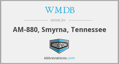 What does WMDB stand for?