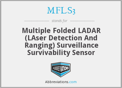 What does MFLS3 stand for?