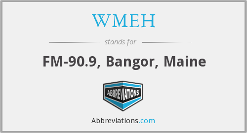 What does WMEH stand for?