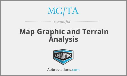 MG/TA - Map Graphic and Terrain Analysis