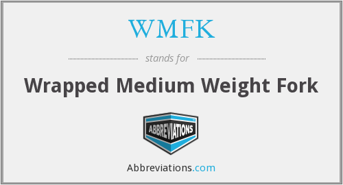 What does WMFK stand for?