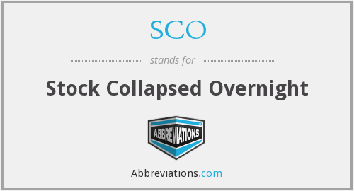What does collapsed stand for?