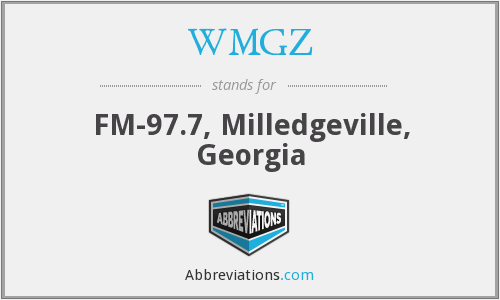 What does WMGZ stand for?