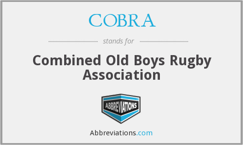 COBRA - Combined Old Boys Rugby Association