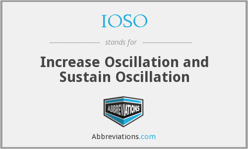 What does IOSO stand for?