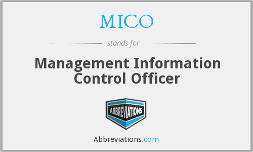 What does MICO stand for?