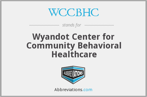 What does WCCBHC stand for?