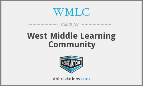 WMLC - West Middle Learning Community