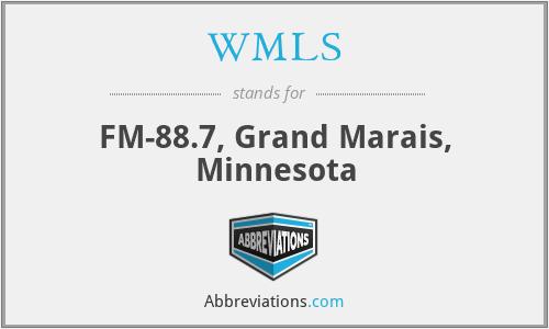 WMLS - FM-88.7, Grand Marais, Minnesota