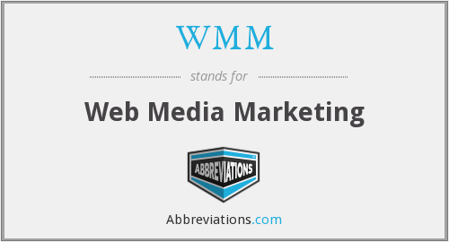 WMM - Web Media Marketing