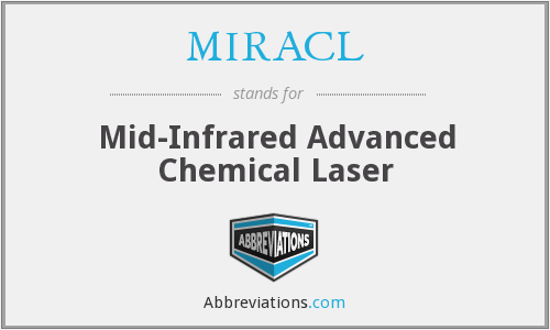 MIRACL - Mid-Infrared Advanced Chemical Laser
