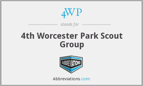 4WP - 4th Worcester Park Scout Group