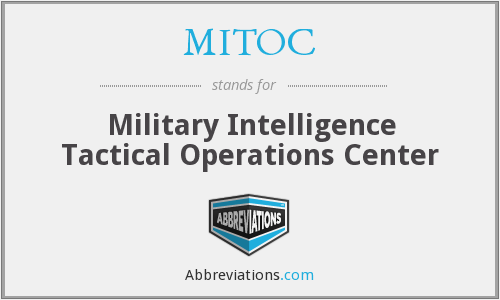 What does MITOC stand for?