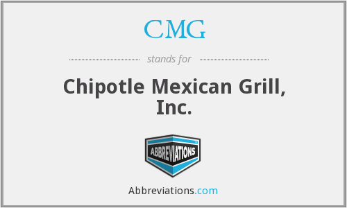 CMG - Chipotle Mexican Grill, Inc.