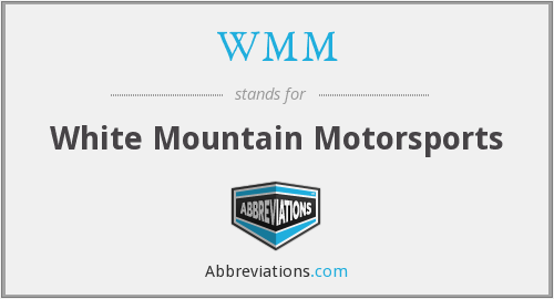 WMM - White Mountain Motorsports