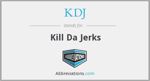 What does KDJ stand for?